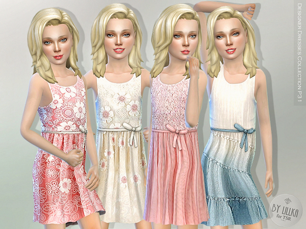 Sims 4 Designer Dresses Collection P31 by lillka at TSR