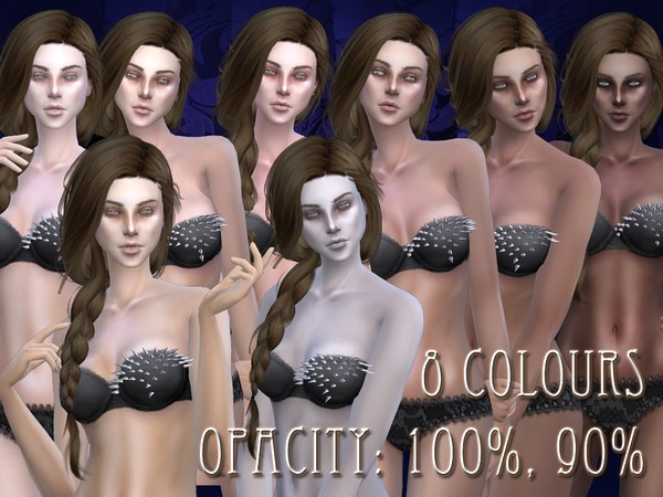 Sims 4 R skin 02 female by RemusSirion at TSR