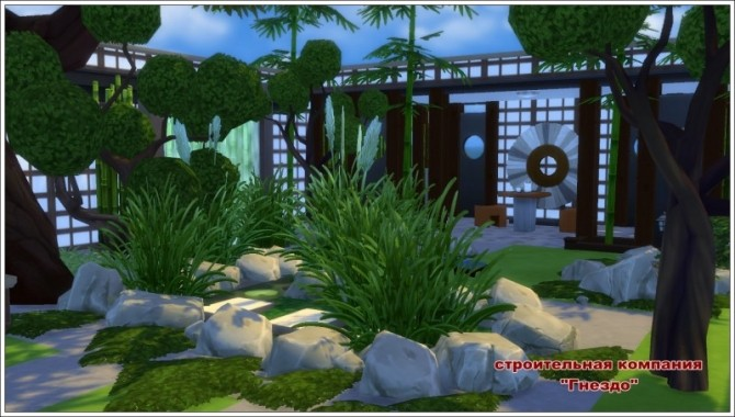 Japanese Garden At Sims By Mulena 187 Sims 4 Updates