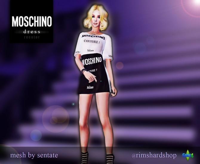 Sims 4 Recolor Dress at Rimshard Shop