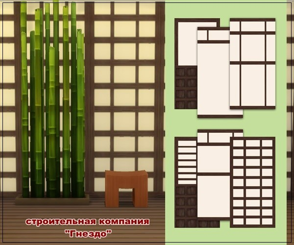 Japanese wallpapers at Sims by Mulena image 14011 Sims 4 Updates