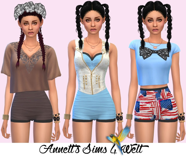 Sims 4 Accessory Swimsuits Vintage at Annett's Sims 4 Welt