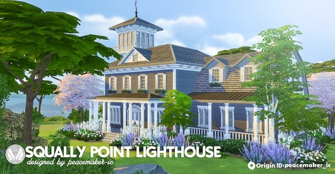 Sims 4 Squally Point Lighthouse at Simsational Designs