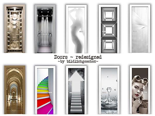 Doors redesigned by Bildlichgesehen at Akisima image 14411 Sims 4 Updates