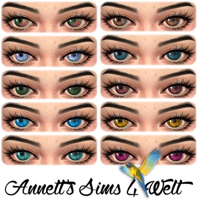 Sims 4 Eyes Nr. 06 at Annett's Sims 4 Welt