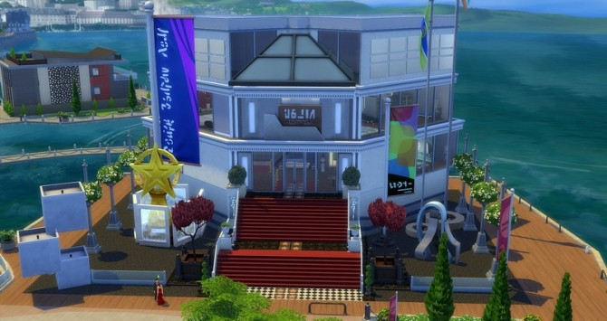 Cannes palace at Studio Sims Creation image 1487 670x355 Sims 4 Updates