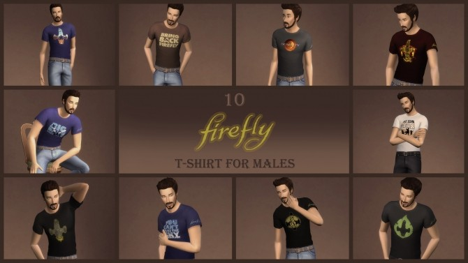 10 Firefly/Serenity T shirt for males by Gavik at Mod The Sims image 151 670x377 Sims 4 Updates