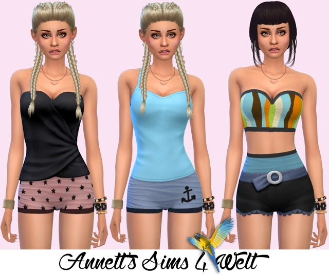 Accessory Swimsuits Vintage at Annett's Sims 4 Welt image 1510 Sims 4 Updates