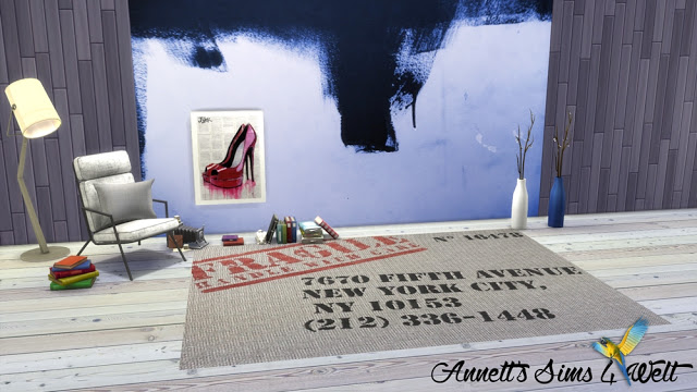Brushstrokes Wallpapers at Annett's Sims 4 Welt image 15117 Sims 4 Updates