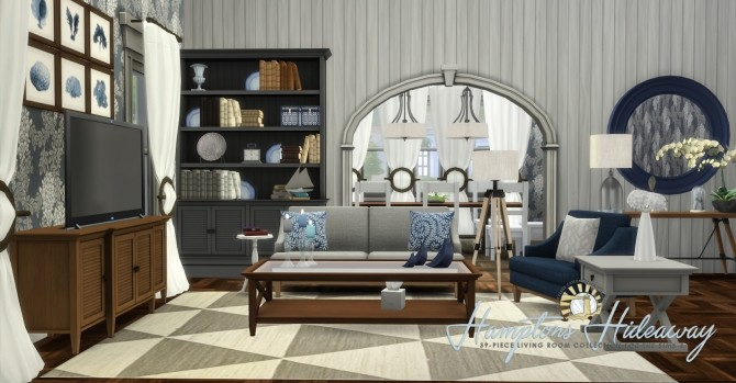 Hamptons Hideaway Living Room By Peacemaker Ic At