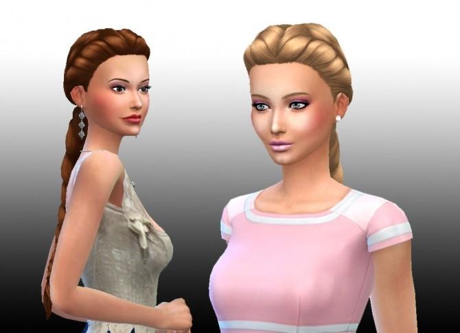 Sims 4 Sunshine Braid at My Stuff