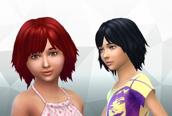 Bumbling Hairstyle for Girls by Kiara Zurk at My Stuff image 1581 670x452 Sims 4 Updates