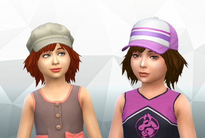 Bumbling Hairstyle for Girls by Kiara Zurk at My Stuff image 1591 670x452 Sims 4 Updates
