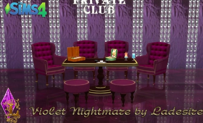 Violet Nightmare set 72 items at Ladesire image 1596 670x407 Sims 4 Updates