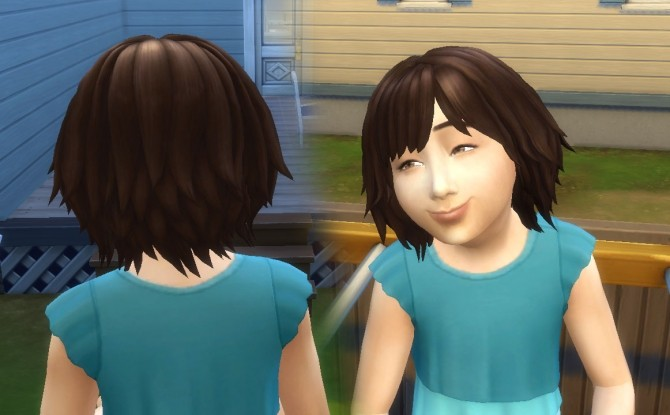 Bumbling Hairstyle for Girls by Kiara Zurk at My Stuff image 1601 670x415 Sims 4 Updates
