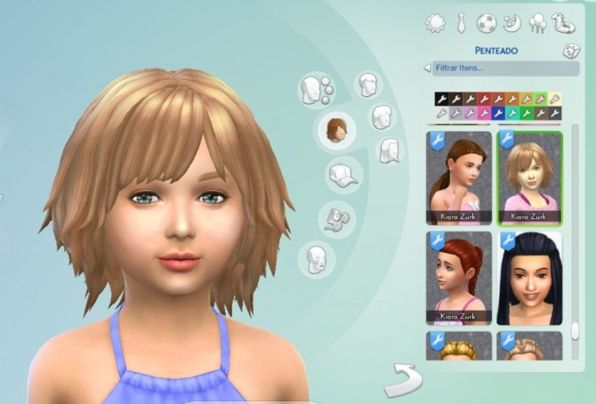 Bumbling Hairstyle for Girls by Kiara Zurk at My Stuff image 1611 670x454 Sims 4 Updates