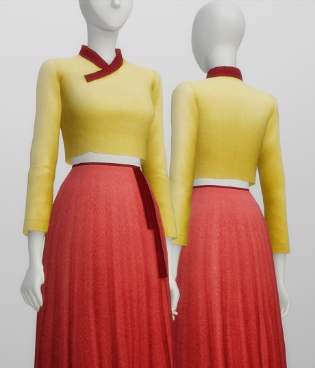 Trendy Hanbok 10 Colors At Rusty Nail 187 Sims 4 Updates