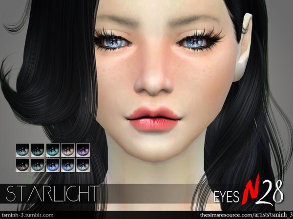 Sims 4 Starlight Eyes by tsminh 3 at TSR