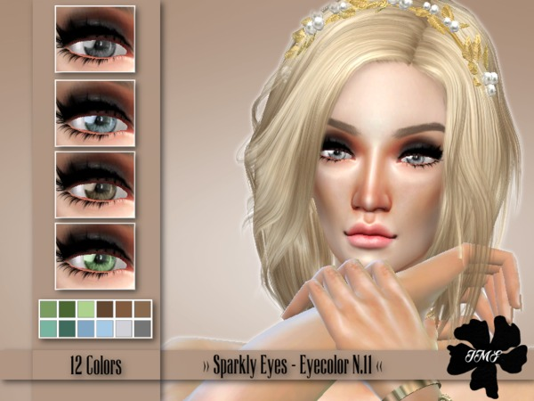 Sims 4 IMF Sparkly Eyes N.11 by IzzieMcFire at TSR
