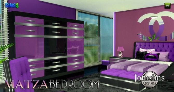Matza Bedroom at Jomsims Creations image 1736 670x355 Sims 4 Updates