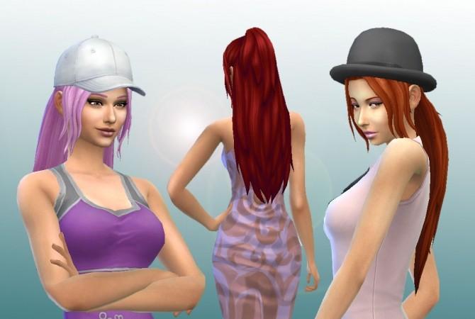 Sims 4 Indecision hair by Kiara Zurk at My Stuff