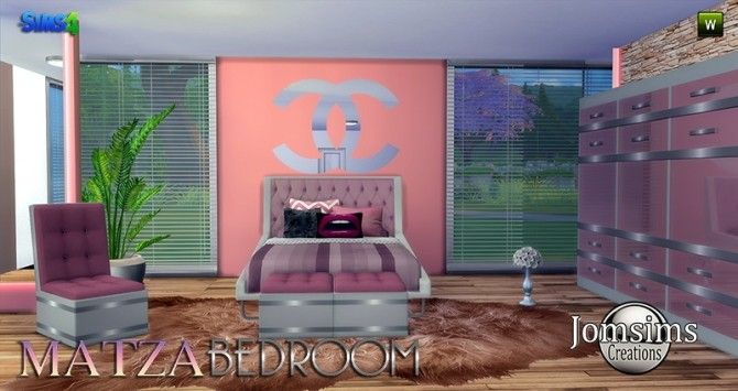 Matza Bedroom at Jomsims Creations image 1746 670x355 Sims 4 Updates