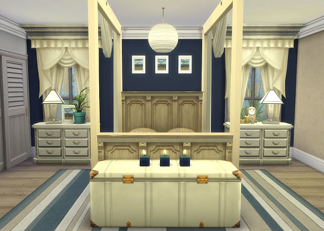 Beachy Bedroom at SIMplicity image 18110 Sims 4 Updates