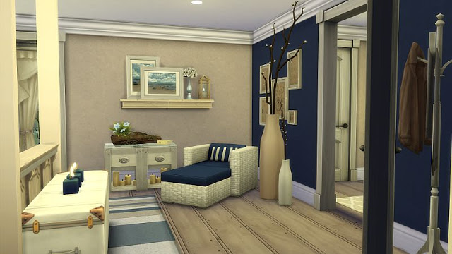 Beachy Bedroom at SIMplicity image 1826 Sims 4 Updates