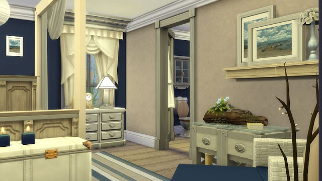 Beachy Bedroom at SIMplicity image 1835 Sims 4 Updates