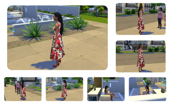 Impossible long Dreads female at Birksches Sims Blog image 1868 Sims 4 Updates