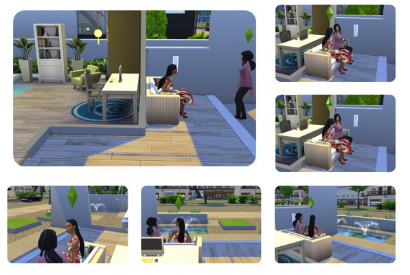 Impossible long Dreads female at Birksches Sims Blog image 1879 Sims 4 Updates