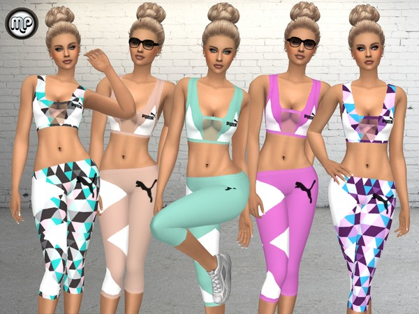 Sport outfit at BTB Sims – MartyP image 19110 Sims 4 Updates