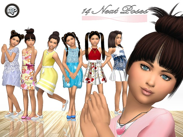 Sims 4 14 Neat Poses at BTB Sims – MartyP