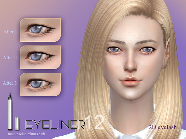 Eyeliner 12 by S Club LL at TSR image 1949 Sims 4 Updates