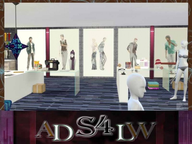 Fashion Men Mode Poster Size L&XL Vol.3 by Adlw Simiesk Art at SimsWorkshop image 199 670x503 Sims 4 Updates