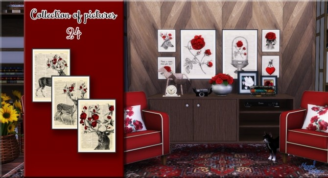 Sims 4 Collection of pictures 24 at Victor Miguel