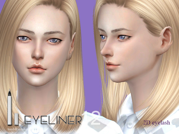 Eyeliner 12 by S Club LL at TSR image 2049 Sims 4 Updates