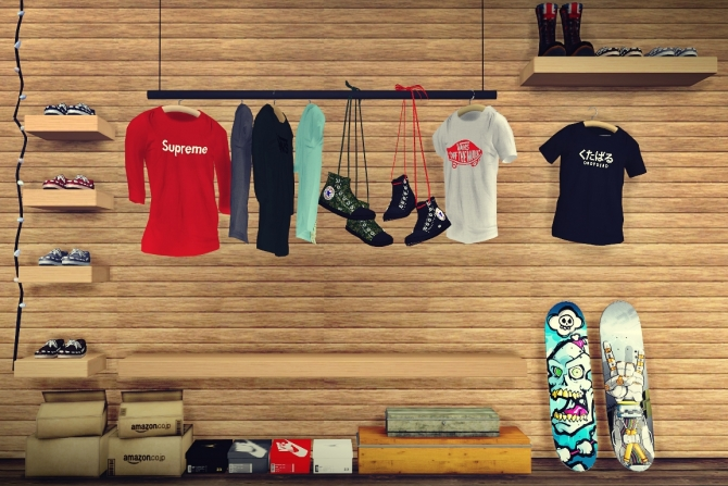 Street Wear Set At Mxims 187 Sims 4 Updates