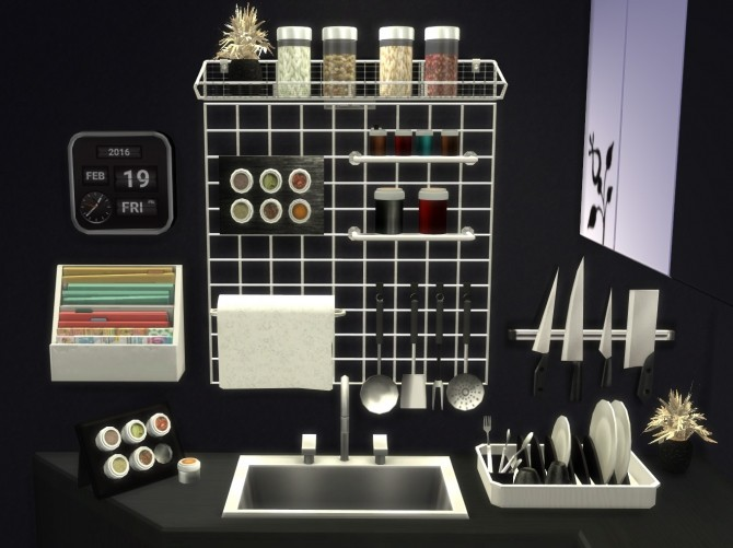 Altea Kitchen Clutter Part 2 By Mary Jim 233 Nez At Pqsims4