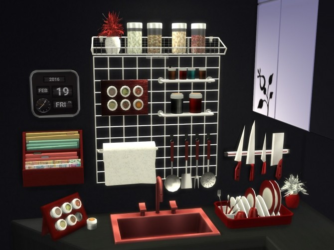 Altea Kitchen Clutter Part 2 by Mary Jiménez at pqSims4 image 2081 670x501 Sims 4 Updates