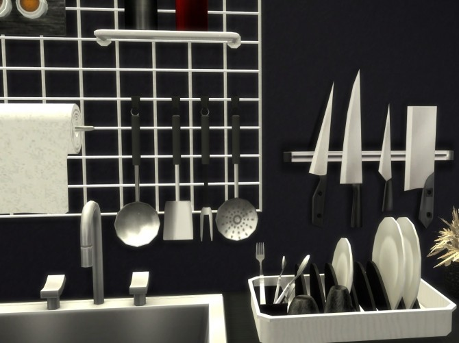 Altea Kitchen Clutter Part 2 by Mary Jiménez at pqSims4 image 2101 670x501 Sims 4 Updates