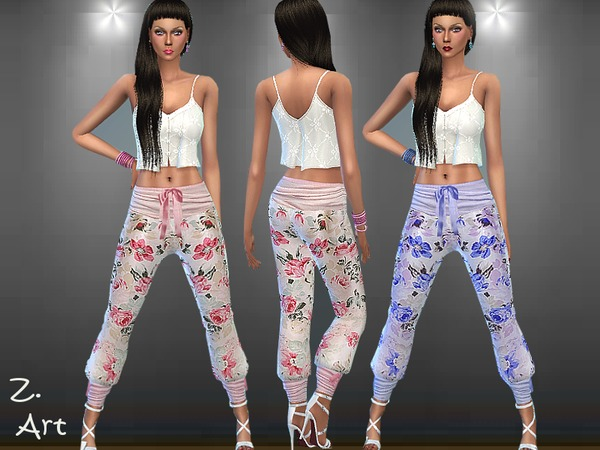Summer Pants III by Zuckerschnute20 at TSR image 2105 Sims 4 Updates