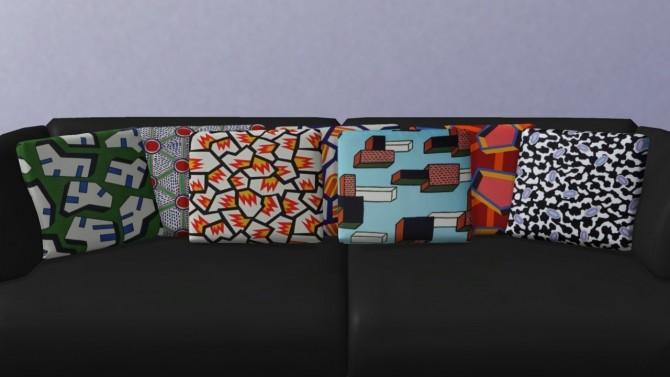 Sims 4 Square Cushions at Meinkatz Creations