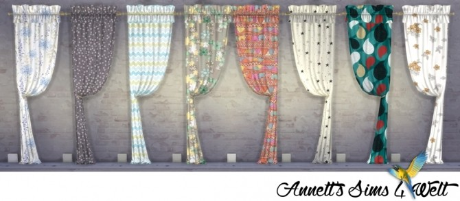TS3 Curtains Conversion Part 1 at Annett's Sims 4 Welt image 212 670x293 Sims 4 Updates