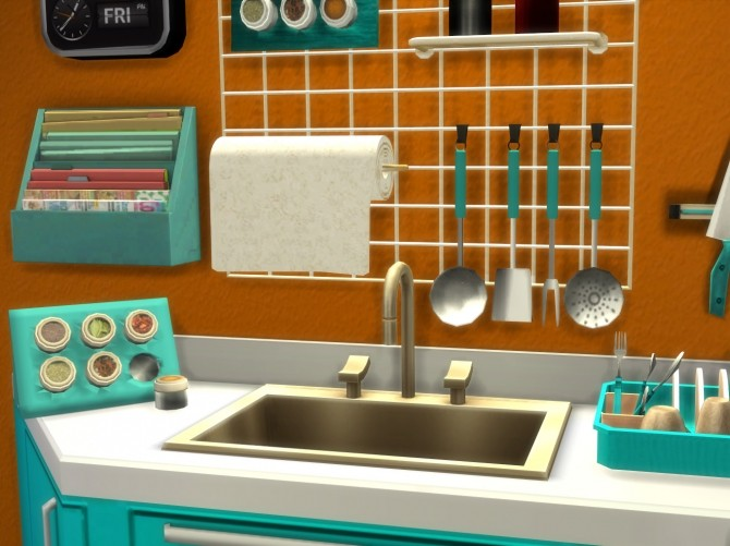 Altea Kitchen Clutter Part 2 by Mary Jiménez at pqSims4 image 2121 670x501 Sims 4 Updates