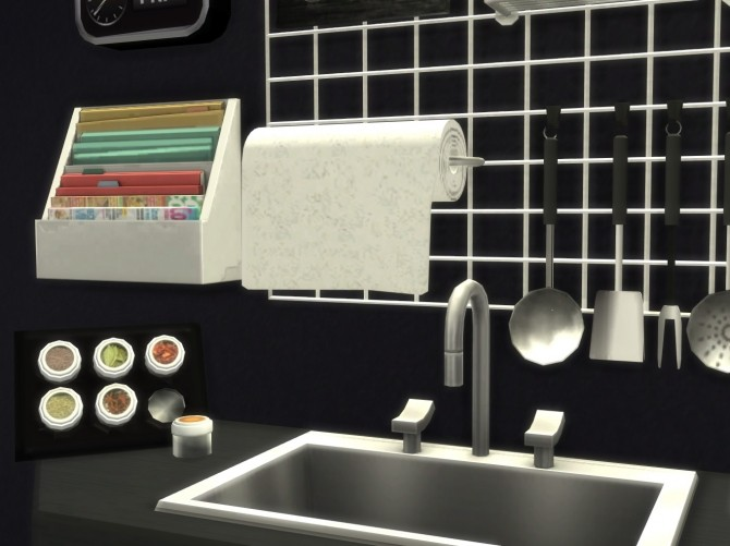 Altea Kitchen Clutter Part 2 by Mary Jiménez at pqSims4 image 2131 670x501 Sims 4 Updates