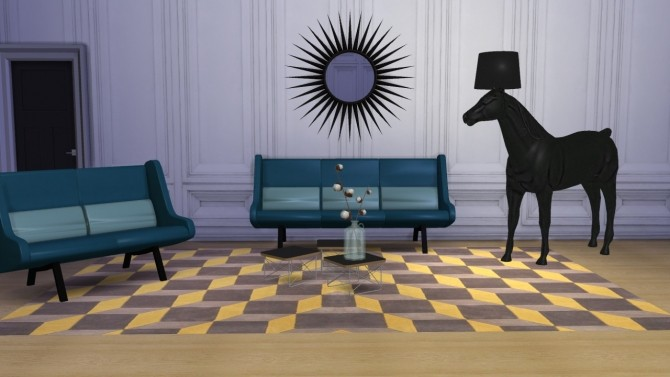 Sims 4 In Duplo sofa + loveseat at Meinkatz Creations