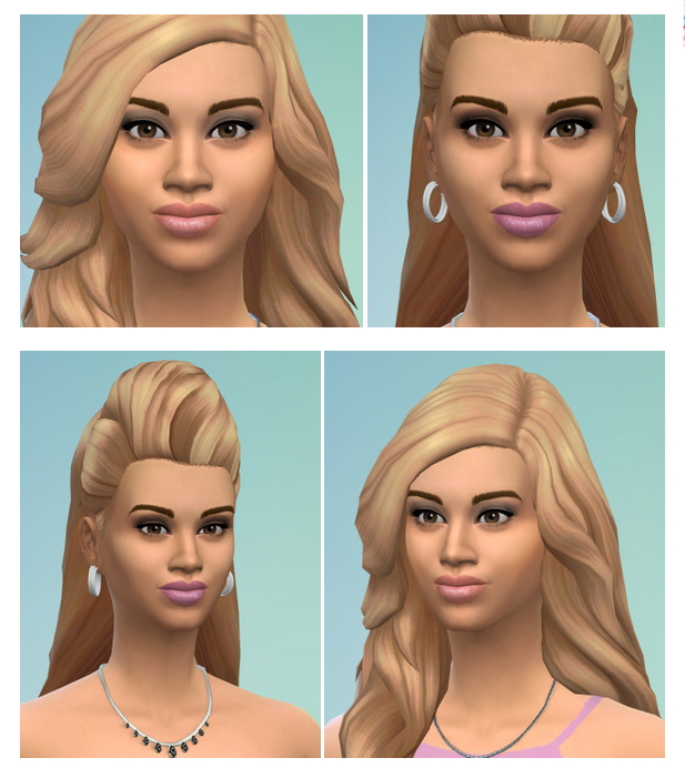 Sims 4 Beyonce Knowles at Birksches Sims Blog