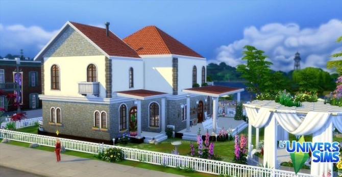 Sims 4 Customee house by Coco Simy at L'UniverSims