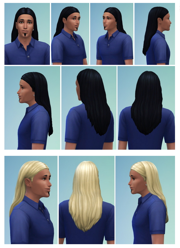 Sims 4 Gents Hair at Birksches Sims Blog
